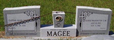"MAGEE, GEORGE WASHINGTON ""G W"" - Washington County, Louisiana | GEORGE WASHINGTON ""G W"" MAGEE - Louisiana Gravestone Photos"