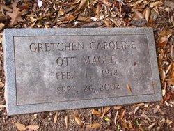 MAGEE, GRETCHEN CAROLINE - Washington County, Louisiana | GRETCHEN CAROLINE MAGEE - Louisiana Gravestone Photos