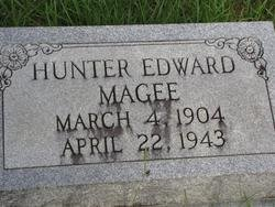 MAGEE, HUNTER EDWARD - Washington County, Louisiana | HUNTER EDWARD MAGEE - Louisiana Gravestone Photos