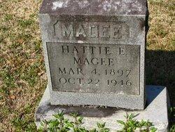 MAGEE, HATTIE E - Washington County, Louisiana | HATTIE E MAGEE - Louisiana Gravestone Photos