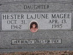 MAGEE, HESTER LAJUNE - Washington County, Louisiana | HESTER LAJUNE MAGEE - Louisiana Gravestone Photos