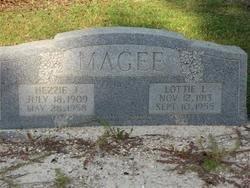 MAGEE, LOTTIE LAURA - Washington County, Louisiana | LOTTIE LAURA MAGEE - Louisiana Gravestone Photos