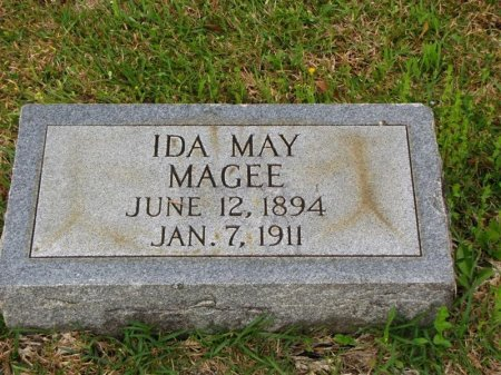 MAGEE, IDA MAY - Washington County, Louisiana | IDA MAY MAGEE - Louisiana Gravestone Photos