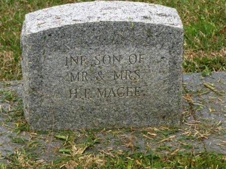 MAGEE, INFANT SON - Washington County, Louisiana | INFANT SON MAGEE - Louisiana Gravestone Photos