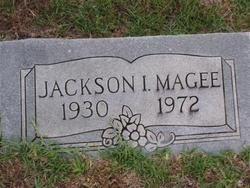MAGEE, JACKSON I - Washington County, Louisiana | JACKSON I MAGEE - Louisiana Gravestone Photos