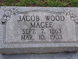 MAGEE, JACOB WOOD - Washington County, Louisiana | JACOB WOOD MAGEE - Louisiana Gravestone Photos