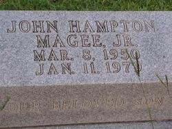MAGEE, JOHN HAMPTON JR - Washington County, Louisiana | JOHN HAMPTON JR MAGEE - Louisiana Gravestone Photos