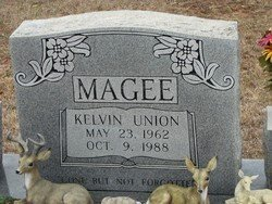 MAGEE, KELVIN UNION - Washington County, Louisiana | KELVIN UNION MAGEE - Louisiana Gravestone Photos