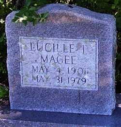 MAGEE, LUCILLE - Washington County, Louisiana   LUCILLE MAGEE - Louisiana Gravestone Photos