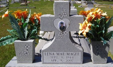 MAGEE, LENA MAE - Washington County, Louisiana | LENA MAE MAGEE - Louisiana Gravestone Photos