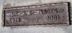MAGEE, L E MR - Washington County, Louisiana | L E MR MAGEE - Louisiana Gravestone Photos