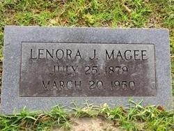 MAGEE, LENORA J - Washington County, Louisiana | LENORA J MAGEE - Louisiana Gravestone Photos