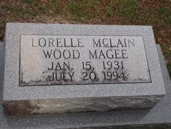 MAGEE, LORELLE WOOD - Washington County, Louisiana | LORELLE WOOD MAGEE - Louisiana Gravestone Photos