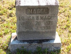 MAGEE, LOUISA - Washington County, Louisiana   LOUISA MAGEE - Louisiana Gravestone Photos