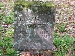 MAGEE, LIZZIE L - Washington County, Louisiana   LIZZIE L MAGEE - Louisiana Gravestone Photos