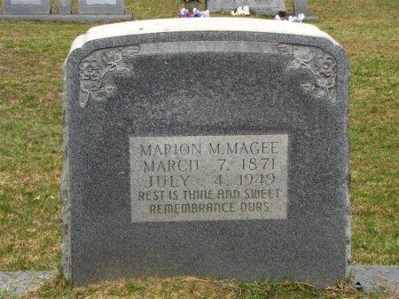 MAGEE, MARION MONROE - Washington County, Louisiana | MARION MONROE MAGEE - Louisiana Gravestone Photos