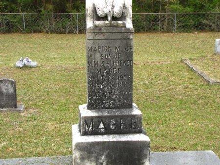 MAGEE, MARION MONROE JR - Washington County, Louisiana | MARION MONROE JR MAGEE - Louisiana Gravestone Photos