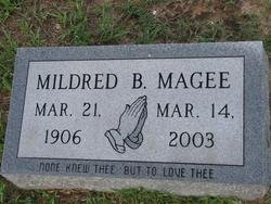 MAGEE, MILDRED - Washington County, Louisiana   MILDRED MAGEE - Louisiana Gravestone Photos
