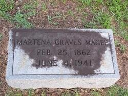 MAGEE, MARTENA - Washington County, Louisiana | MARTENA MAGEE - Louisiana Gravestone Photos