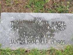 MAGEE, MARGIE (DAUGHTER) - Washington County, Louisiana | MARGIE (DAUGHTER) MAGEE - Louisiana Gravestone Photos