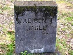 MAGEE, MADISON L - Washington County, Louisiana   MADISON L MAGEE - Louisiana Gravestone Photos