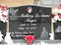 MAGEE, MALLORY LEANNE - Washington County, Louisiana | MALLORY LEANNE MAGEE - Louisiana Gravestone Photos