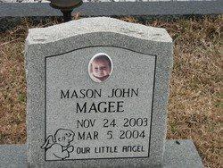 MAGEE, MASON JOHN - Washington County, Louisiana | MASON JOHN MAGEE - Louisiana Gravestone Photos