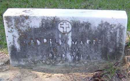 MAGEE, ANDREW (VETERAN WWI) - Washington County, Louisiana | ANDREW (VETERAN WWI) MAGEE - Louisiana Gravestone Photos