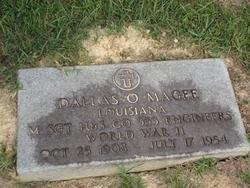 MAGEE, DALLAS O (VETERAN WWII) - Washington County, Louisiana | DALLAS O (VETERAN WWII) MAGEE - Louisiana Gravestone Photos