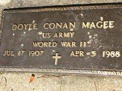 MAGEE, DOYLE CONAN, DR (VETERAN WWII) - Washington County, Louisiana | DOYLE CONAN, DR (VETERAN WWII) MAGEE - Louisiana Gravestone Photos