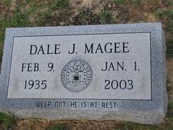 MAGEE, DALE J (VETERAN ) - Washington County, Louisiana | DALE J (VETERAN ) MAGEE - Louisiana Gravestone Photos