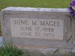 MAGEE, JUNE MARCUS (VETERAN WWI) - Washington County, Louisiana | JUNE MARCUS (VETERAN WWI) MAGEE - Louisiana Gravestone Photos