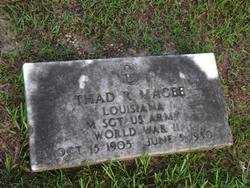 MAGEE, THAD R (VETERAN WWII) - Washington County, Louisiana | THAD R (VETERAN WWII) MAGEE - Louisiana Gravestone Photos