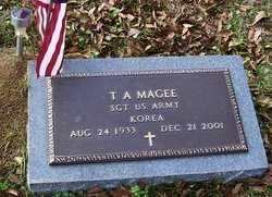 MAGEE, T A  (VETERAN  KOR) - Washington County, Louisiana   T A  (VETERAN  KOR) MAGEE - Louisiana Gravestone Photos