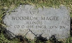 MAGEE, WOODROW (VETERAN WWII) - Washington County, Louisiana | WOODROW (VETERAN WWII) MAGEE - Louisiana Gravestone Photos