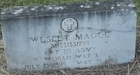 MAGEE, WESLEY (VETERAN WWI) - Washington County, Louisiana | WESLEY (VETERAN WWI) MAGEE - Louisiana Gravestone Photos