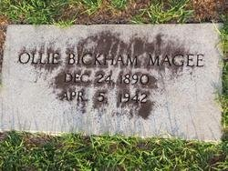 MAGEE, OLLIE BICKHAM - Washington County, Louisiana | OLLIE BICKHAM MAGEE - Louisiana Gravestone Photos