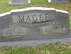 MAGEE, OTIS N - Washington County, Louisiana | OTIS N MAGEE - Louisiana Gravestone Photos