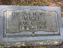 MAGEE, PHILONA  WOOD - Washington County, Louisiana | PHILONA  WOOD MAGEE - Louisiana Gravestone Photos