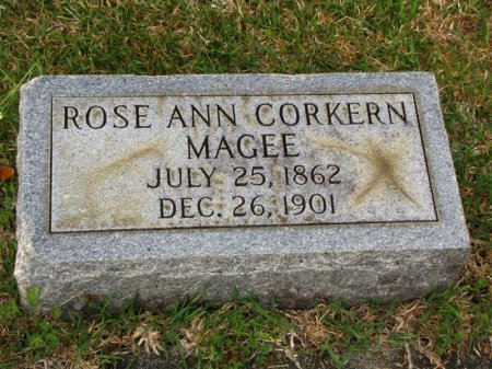 MAGEE, ROSE ANN - Washington County, Louisiana | ROSE ANN MAGEE - Louisiana Gravestone Photos