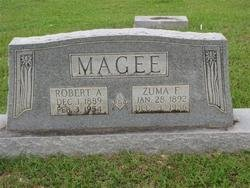 MAGEE, ZUMA - Washington County, Louisiana | ZUMA MAGEE - Louisiana Gravestone Photos