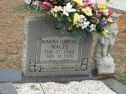 MAGEE, ROMUNA RUTH - Washington County, Louisiana   ROMUNA RUTH MAGEE - Louisiana Gravestone Photos