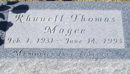 MAGEE, RHUNELL - Washington County, Louisiana | RHUNELL MAGEE - Louisiana Gravestone Photos