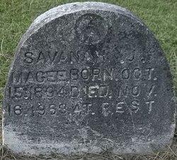 MAGEE, SAVANAH J - Washington County, Louisiana | SAVANAH J MAGEE - Louisiana Gravestone Photos