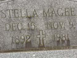 MAGEE, STELLA - Washington County, Louisiana | STELLA MAGEE - Louisiana Gravestone Photos