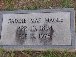 MAGEE, SADDIE MAE - Washington County, Louisiana | SADDIE MAE MAGEE - Louisiana Gravestone Photos