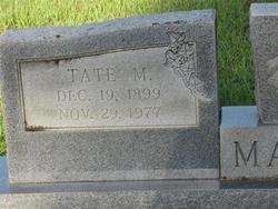 MAGEE, TATE MARVIN (CLOSEUP) - Washington County, Louisiana | TATE MARVIN (CLOSEUP) MAGEE - Louisiana Gravestone Photos