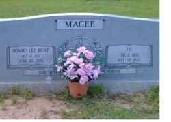 MAGEE, BONNIE LEE - Washington County, Louisiana | BONNIE LEE MAGEE - Louisiana Gravestone Photos