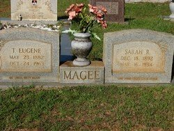 MAGEE, SARAH ROSELINE - Washington County, Louisiana | SARAH ROSELINE MAGEE - Louisiana Gravestone Photos