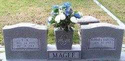 MAGEE, T A - Washington County, Louisiana   T A MAGEE - Louisiana Gravestone Photos